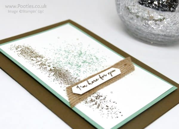 Stampin' Up! Demonstrator Pootles - Touches of Texture with a little Weather Together Side