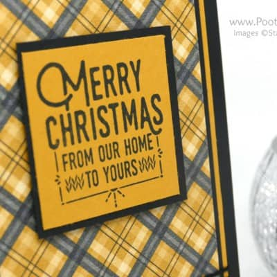 Wrapped in Stampin' Up's Warmth & Cheer