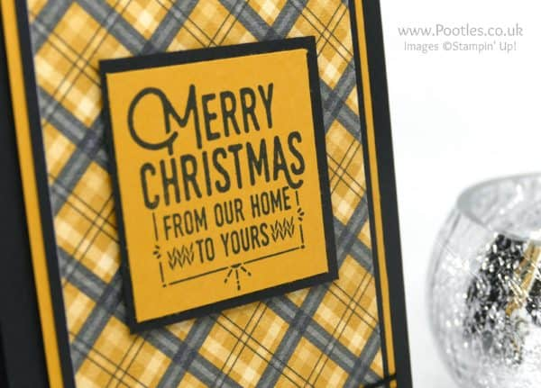 Stampin' Up! Demonstrator Pootles - Wrapped in Stampin' Up's Warmth & Cheer Stamp Detail