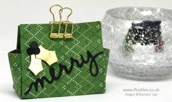 Pootles Advent Countdown 2016 #14 Chocolate Mice 6 x 6 Treat Bag