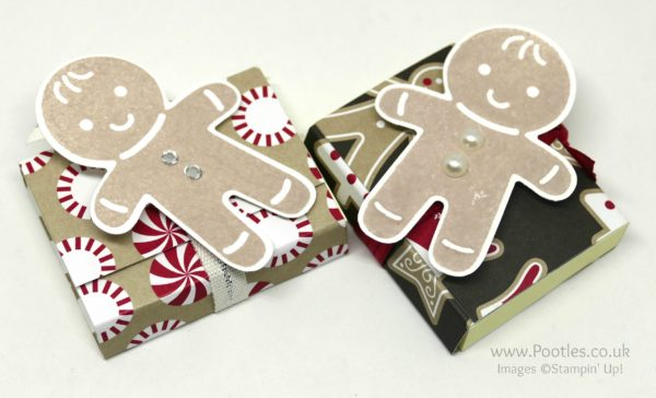 Pootles Advent Countdown 2016 #21 Customer Thank You Post It Pouches Cookie Cutter