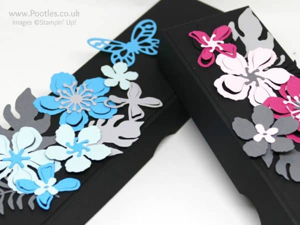 Stampin' Up! Demonstrator Pootles - Bold Botanical Butterfly Box Close Up Detail