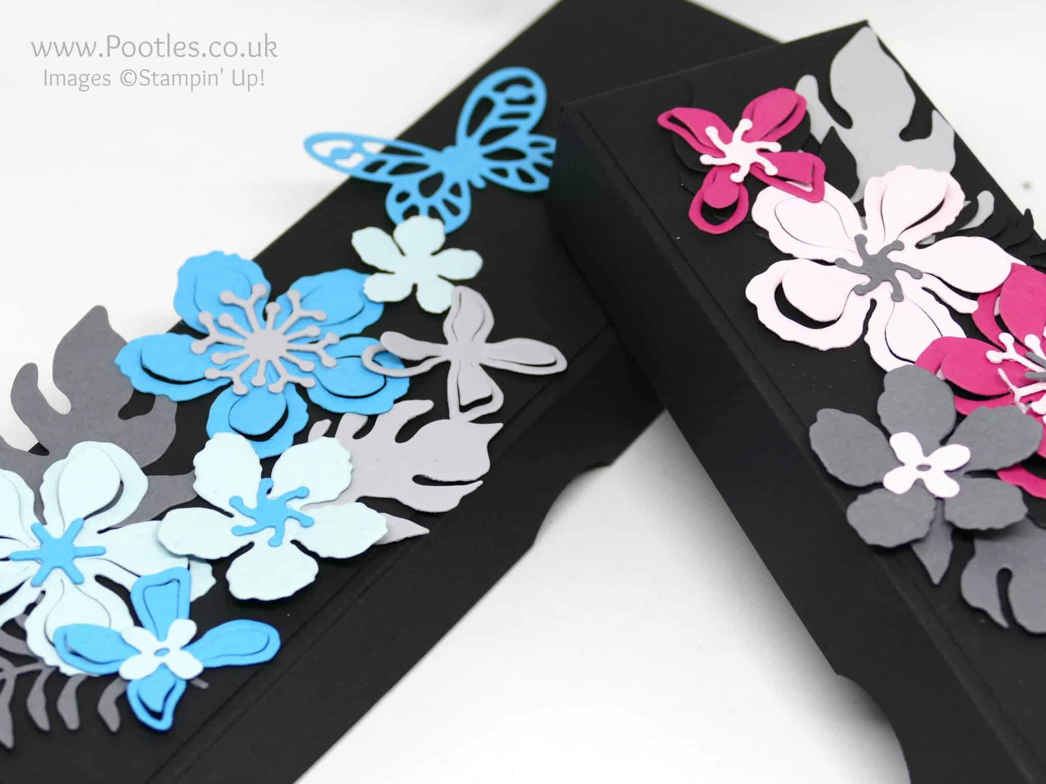 Bold Botanical Butterfly Box