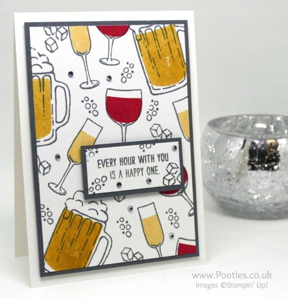 Stampin' Up! Demonstrator Pootles - Colour Your World Blog Hop - Mixed Drinks