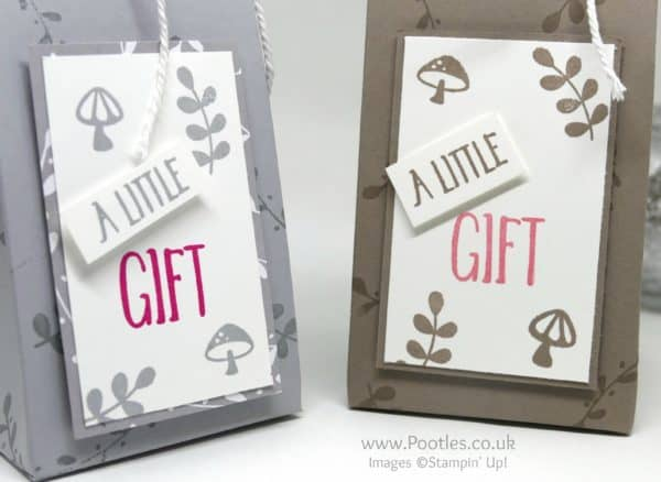 Stampin' Up! Demonstrator Pootles - Foxy Friends Gift Bag Perfectly Wrapped
