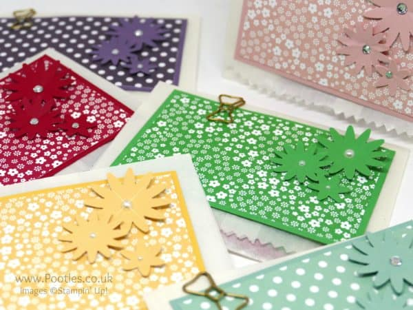 Stampin' Up! Demonstrator Pootles - My Stampin' Up! Tea Bag Customer Thank You Treats Blossom Bunch Punch