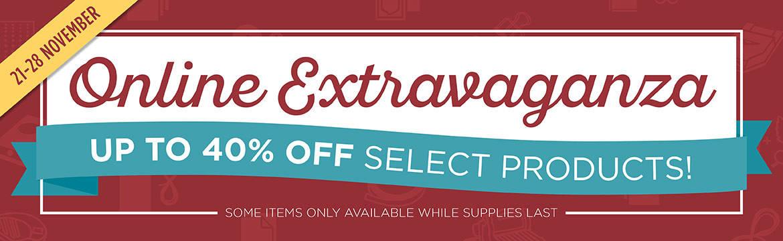 Online Extravaganza and 2 Flash Sales!!! Whoop Whoop!!!