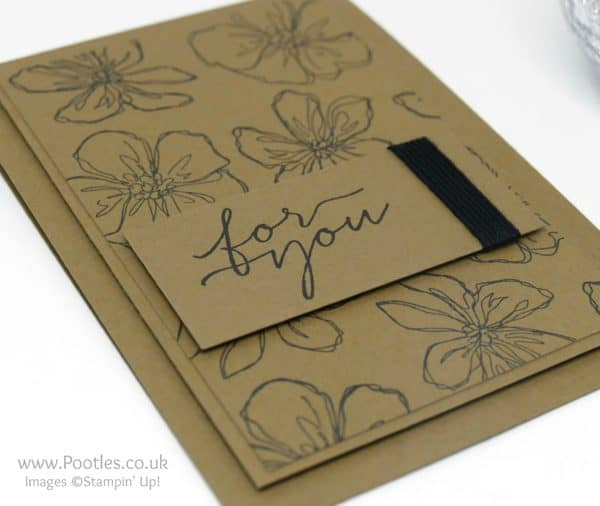 Stampin' Up! Demonstrator Pootles - Penned and Painted Black and Suede + Trimmer Maintenance Video Side
