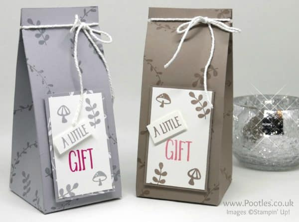 Stampin' Up! Demonstrator Pootles - Perfectly Wrapped Foxy Friends Gift Bag