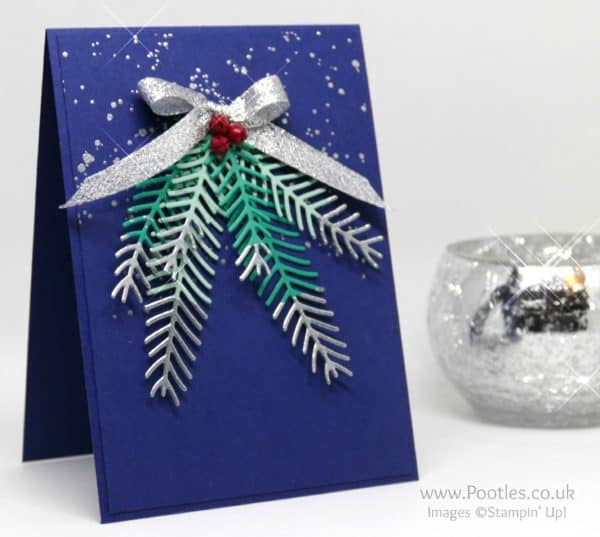 Stampin' Up! Demonstrator Pootles - Pretty Pines Silver Tipped Fir