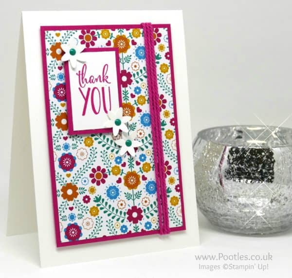 Stampin' Up! Demonstrator Pootles - Retro Flowers and I love it!