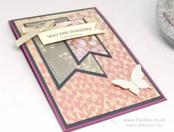 Stampin' Up! Demonstrator Pootles - Team Card - a Collective.... Butterflies
