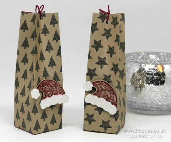 Pootles Advent Countdown 2016 #25 Hanging Hat Bag