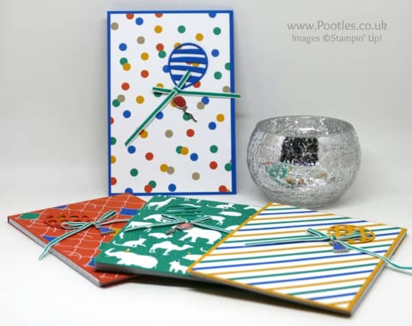 Pootles' Party Animal Welcome Notebooks for new Stampin' Up! Team Members