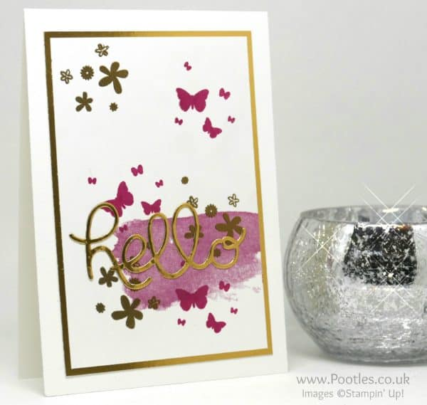 Stampin' Up! Demonstrator Pootles - Hello You Golden Perpetual Birthday