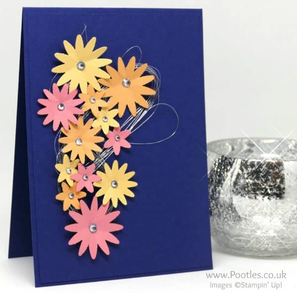 Stampin' Up! Demonstrator Pootles - Midnight Flowers with Subtles