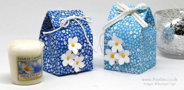 Stampin' Up! Demonstrator Pootles - Yankee Candle Fold Over Bag