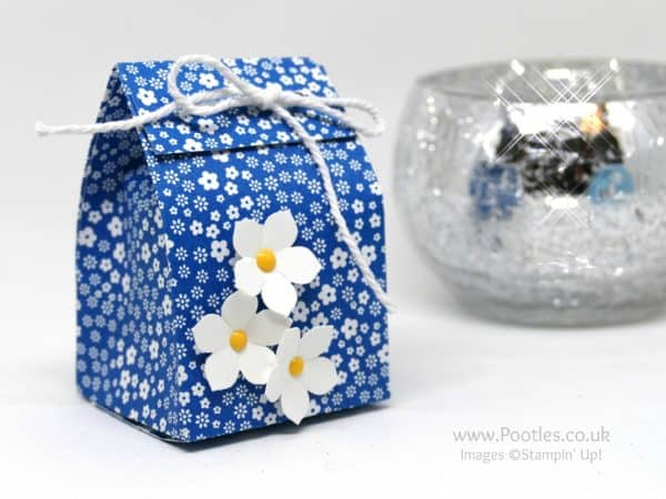 Stampin' Up! Demonstrator Pootles - Yankee Candle Fold Over Bag  Pacific Point