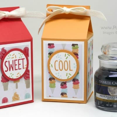 Cool Treats Yankee Candle Jar Box