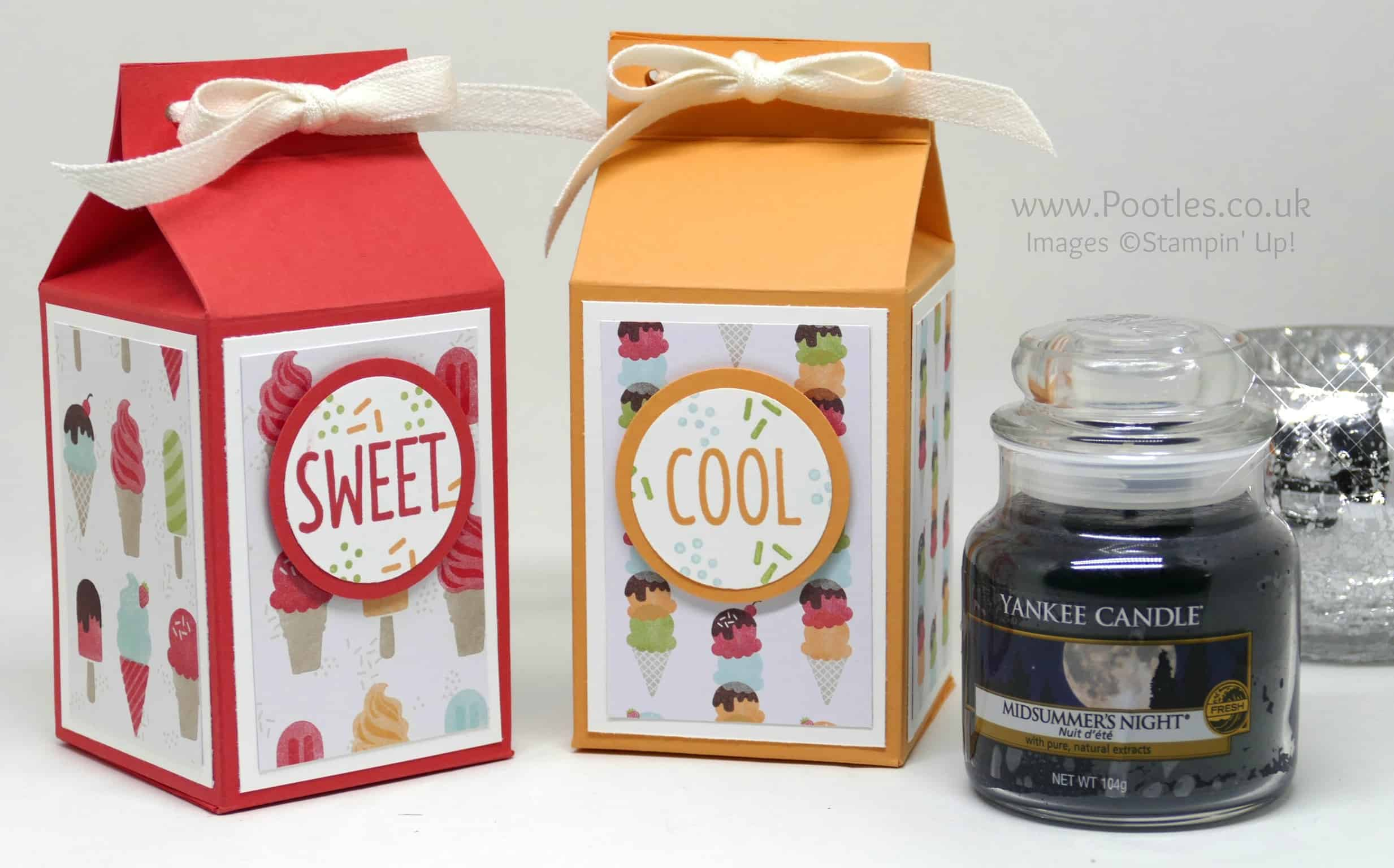 Cool Treats Yankee Candle Jar Box