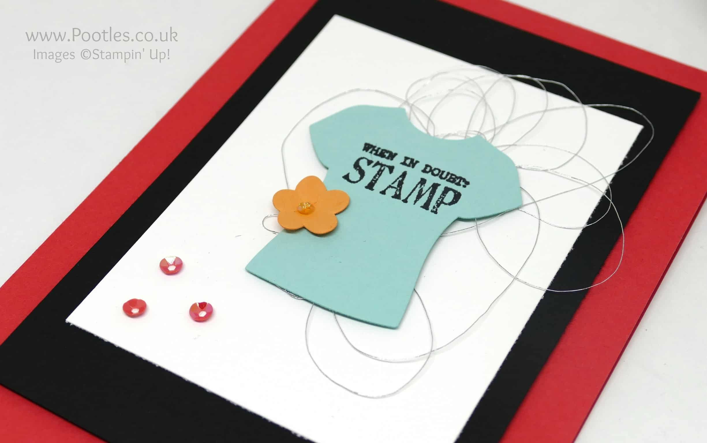 Pootlers Blog Hop Sale a Bration Designer Tee