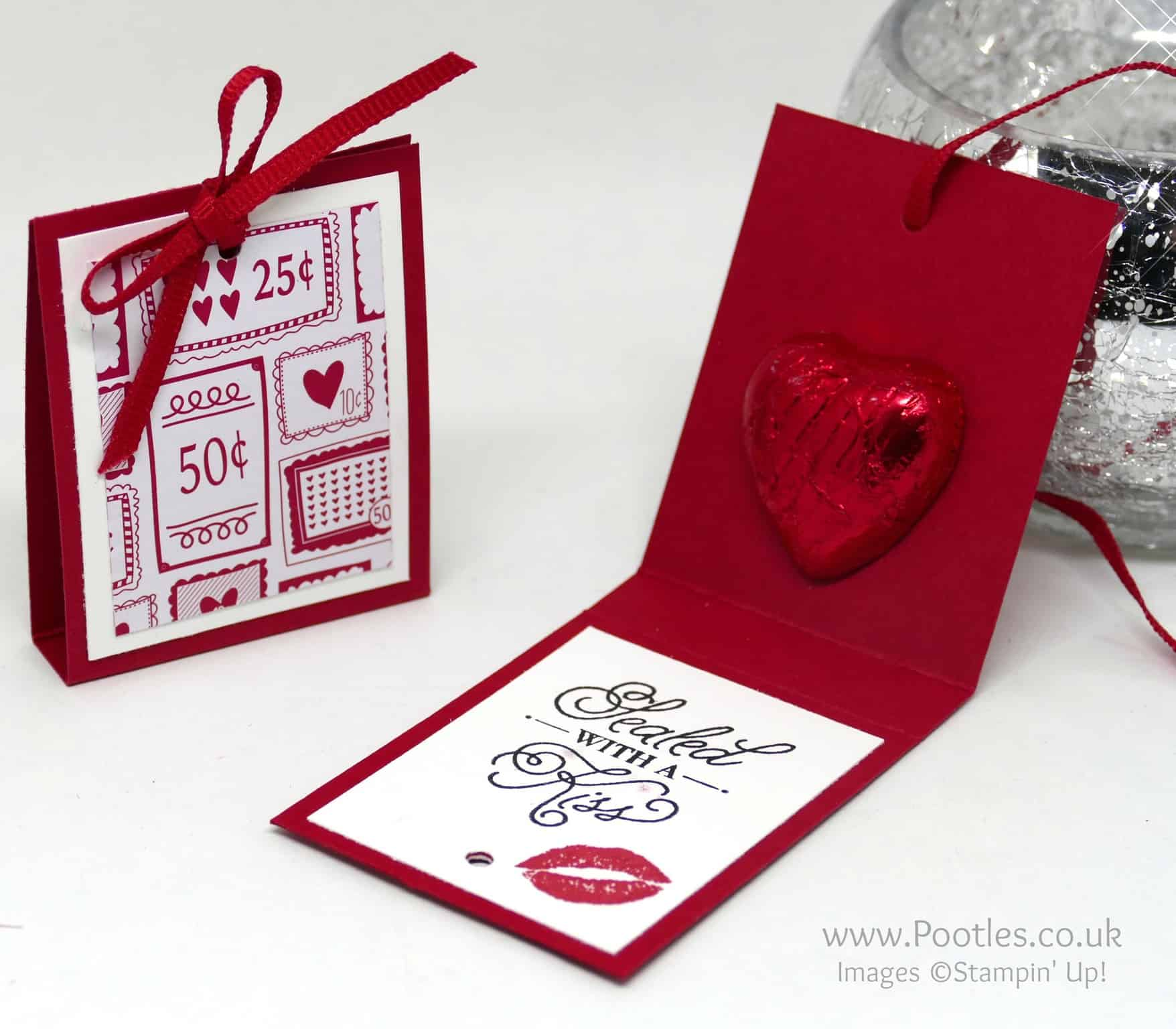 Sending Love Chocolate Treats & Hidden Message