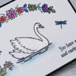 Pootles SpringWatch 2017 Swan Lake Watercolouring