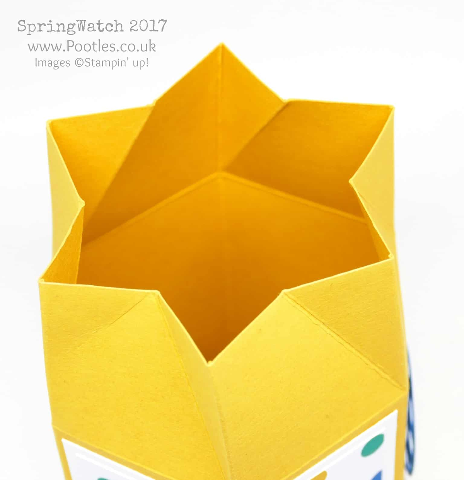 Pootles SpringWatch 2017 Twist & Close Hexagonal Box
