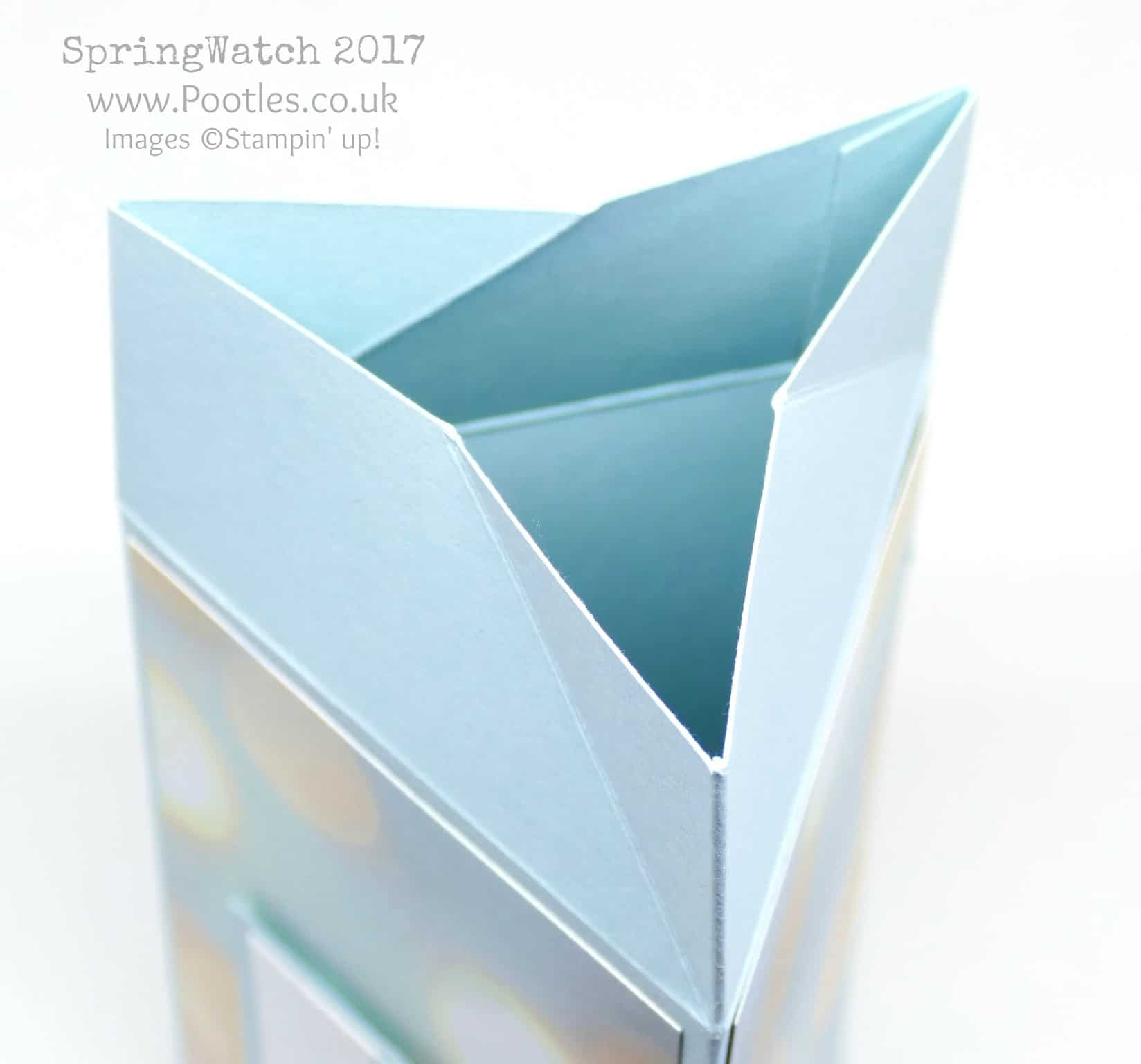 Pootles SpringWatch 2017 Twist & Close Triangle Box