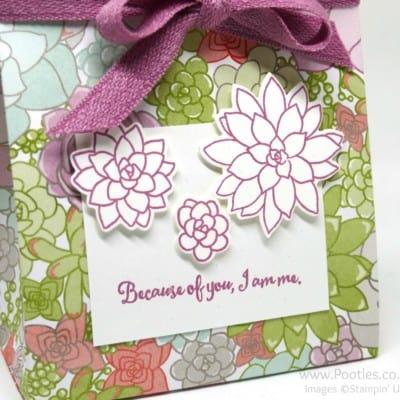 Stampin' Up! Succulent Garden Suite Bag