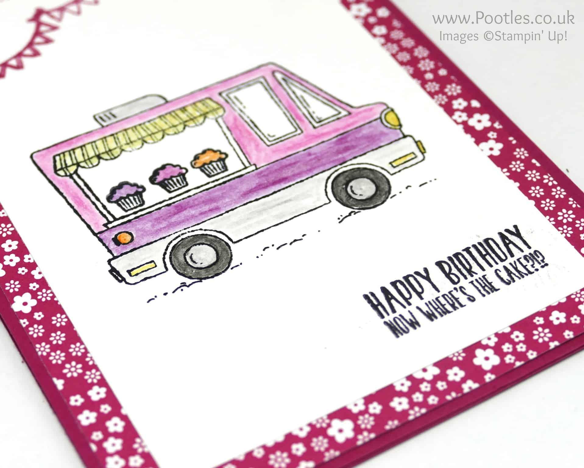 Tasty Pink Ice Cream Trucks in January….