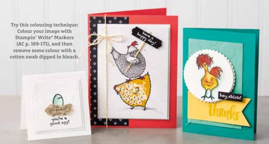 Final Month of Stampin' Up! Sale a Bration 2017