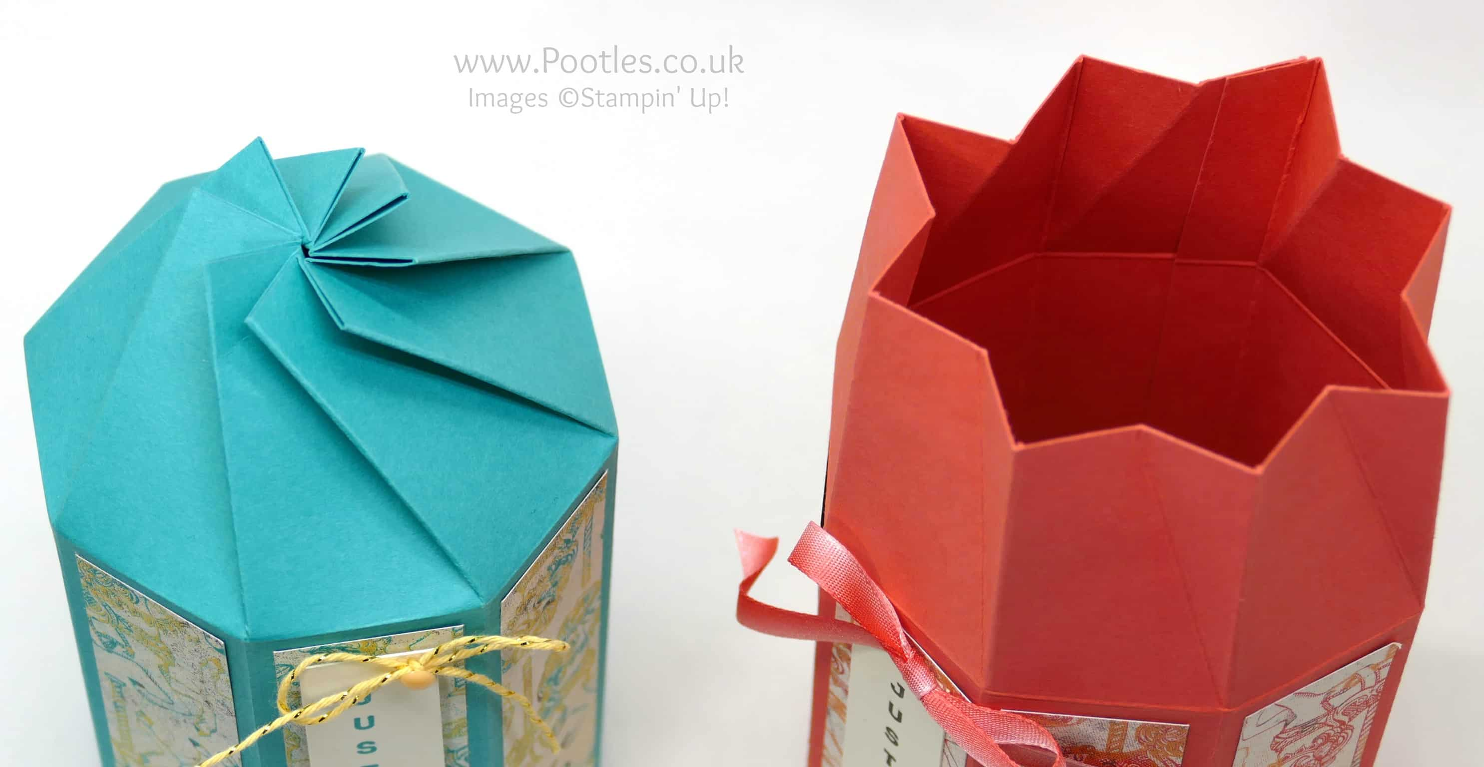 Twist & Close Octagonal Box Tutorial