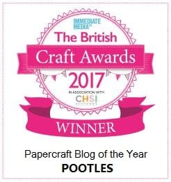 Papercraft Blog of the Year 2017