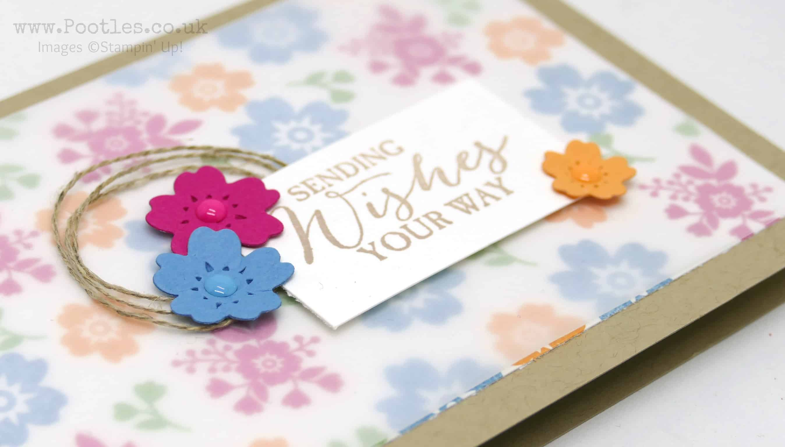 Bloomin' Love with a Vellum Overlay