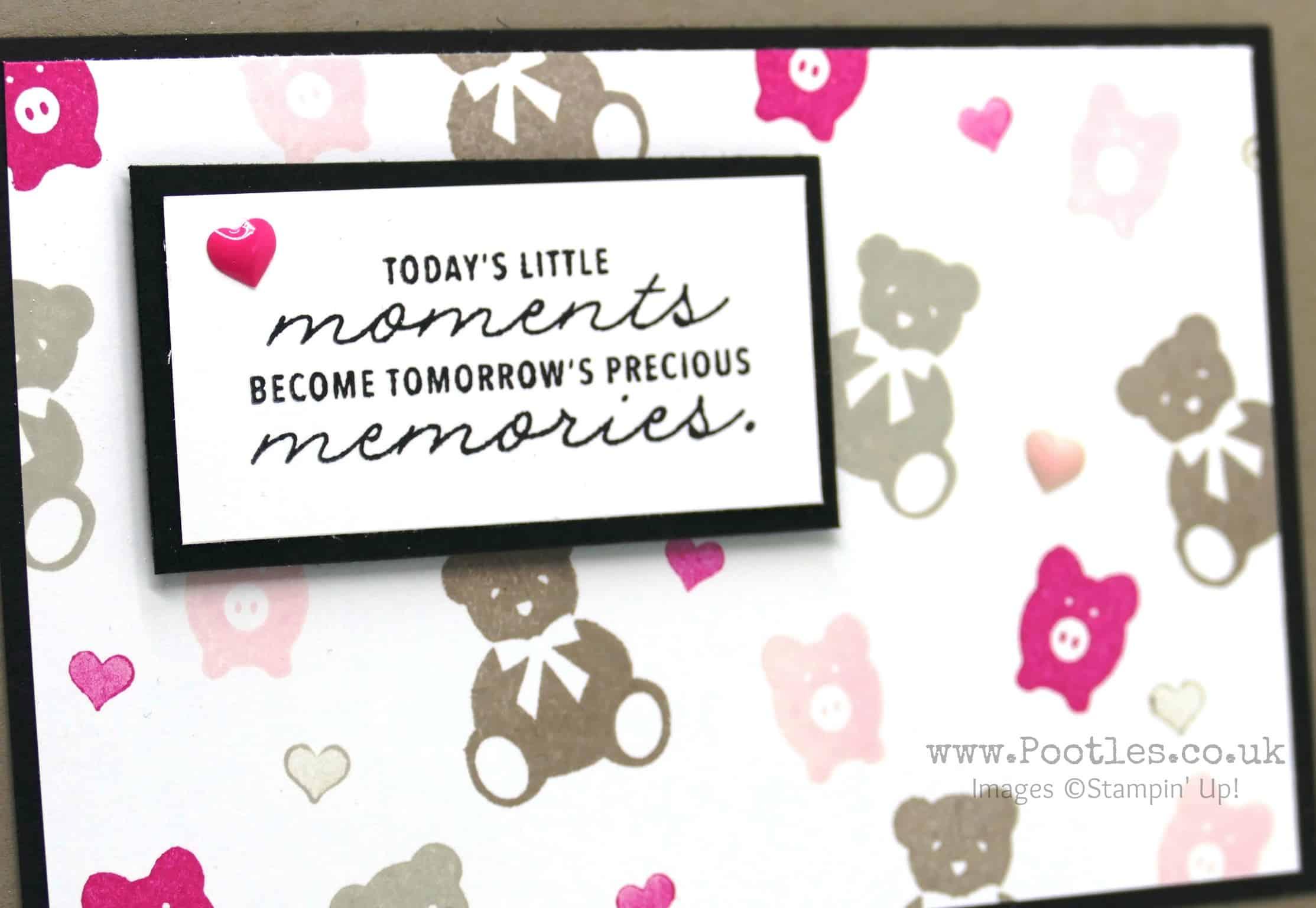 Bookcase Builder Baby Card