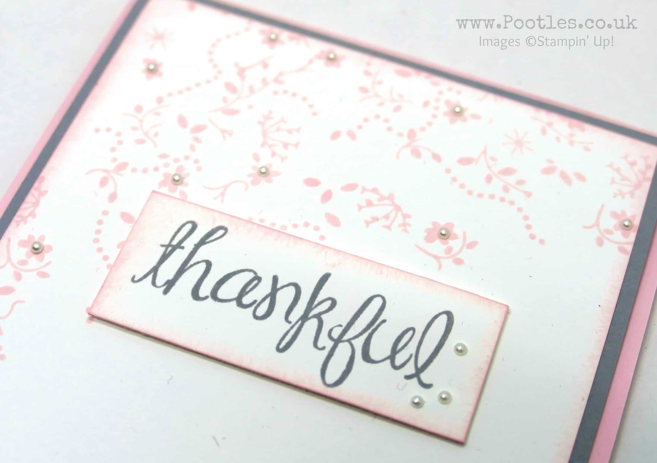 The Delicate Design of a Thankful Life
