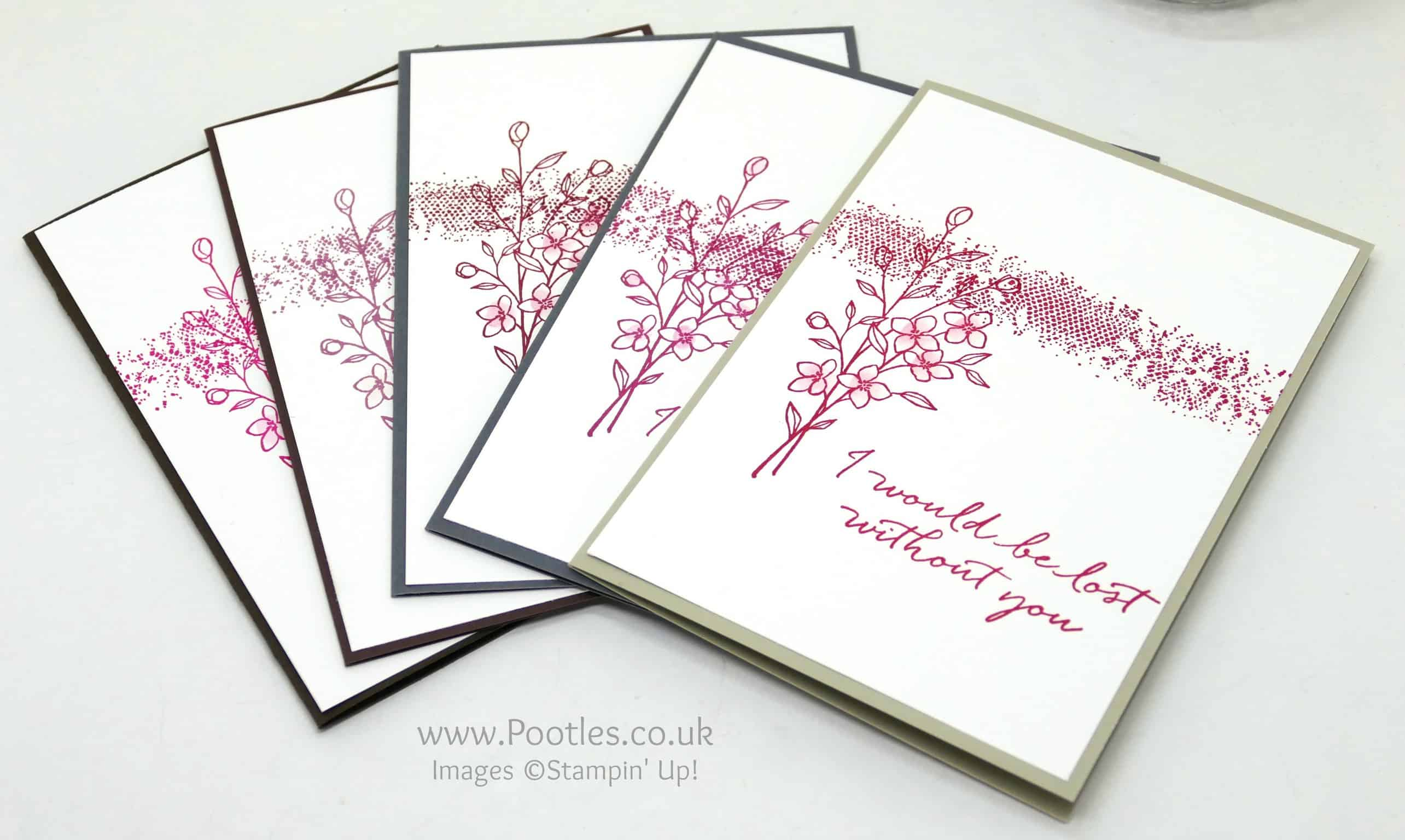 Touches of Texture Customer Thank You Cards