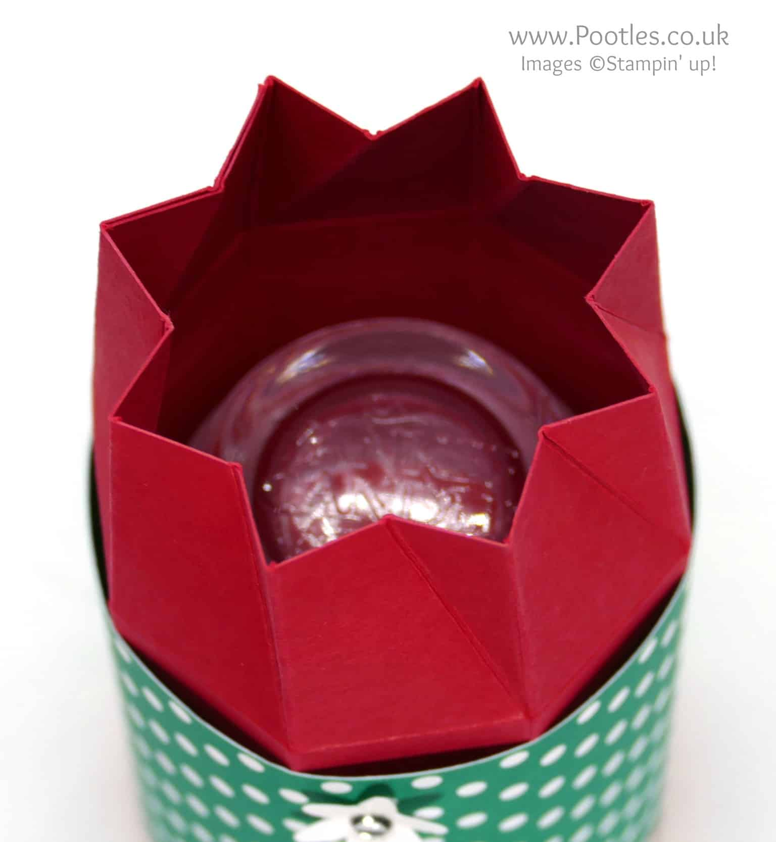Twist & Close Octagonal Box for Yankee Candle Jar