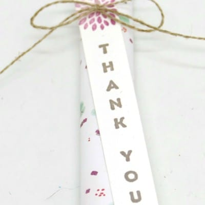 Wedding Favours using Sprout Pencils and Succulent Garden Paper