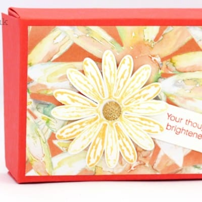 Delightful Daisy Delight Fold Flat Box