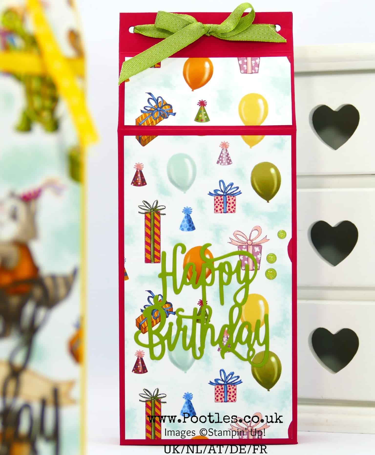 Lovely Big Stampin' Up! Birthday Memories Box