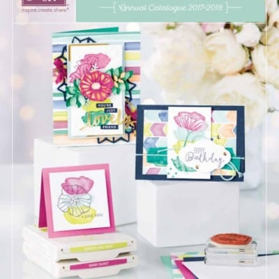 New Stampin' Up! Annual Catalogue Paper Shares – Reserve Your Spot!