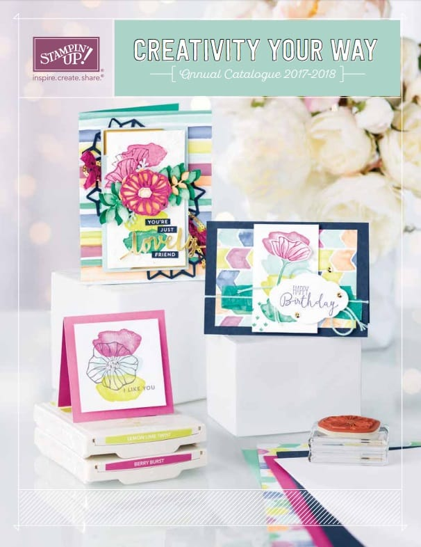 New Stampin' Up! Annual Catalogue PAPER Shares – Reserve Your Spot Today!
