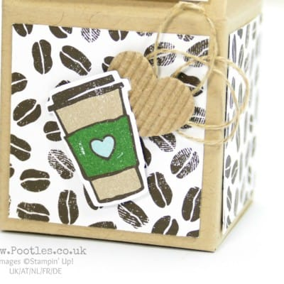 Adorable Stampin' Up! Coffee Break Milk Carton
