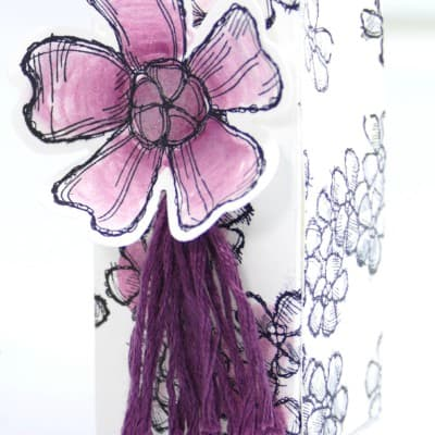 Birthday Blossoms Watercoloured Box