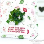 Christmas in July Big Bag using Be Merry Designer Paper