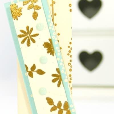 Elegant Golden Bag using Bundle of Love