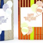 Huge Stampin' Up! Foil Frenzy Happy Birthday Box
