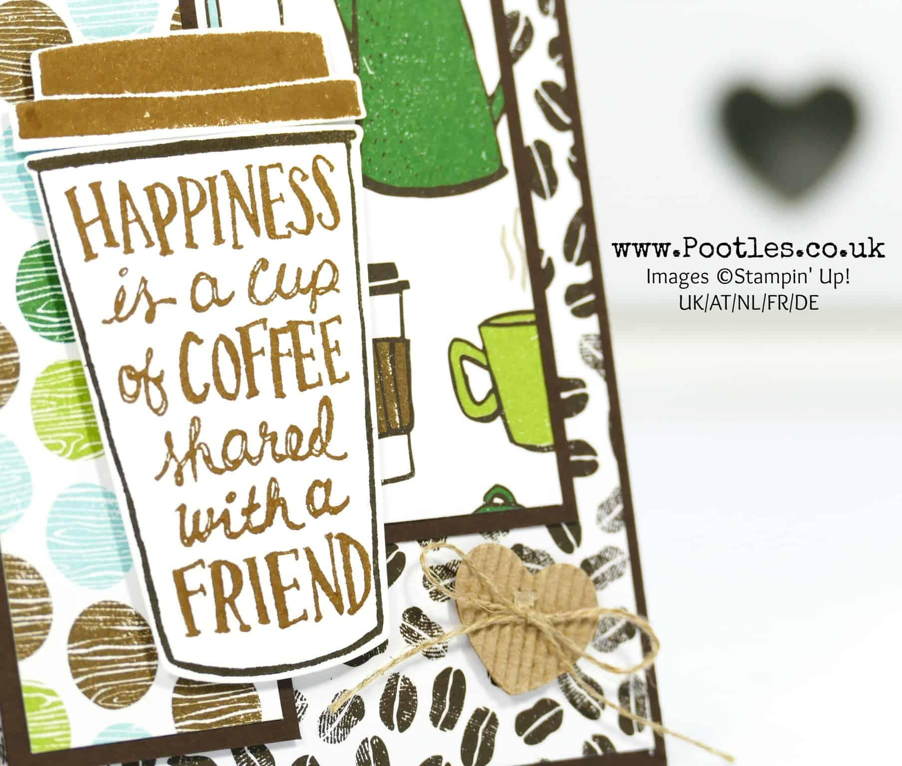 Happiness is…. Coffee Break Suite by Stampin' Up!
